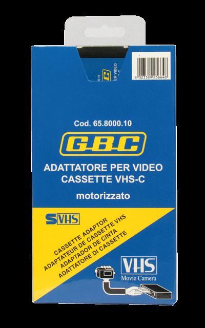 ADATTATORE DI VIDEOCASSETTE VHS-C